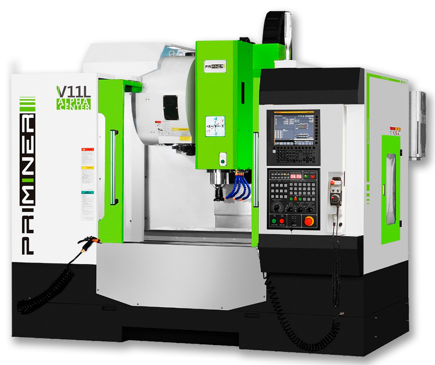 3-Axis Machining Center - CNC Machine